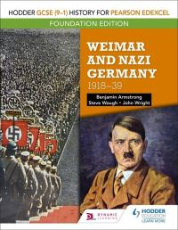 Jacket Image For: Weimar and Nazi Germany, 1918-1939
