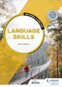 Jacket Image For: Language skills. National 5 English