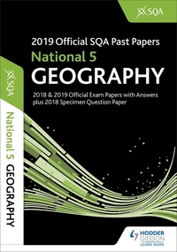 Jacket Image For: National 5 geography