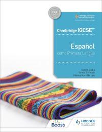 Jacket Image For: Cambridge IGCSE Español como primera lengua. Libro del alumno