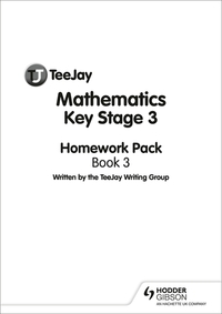 Jacket Image For: TeeJay Mathematics Key Stage 3 Book 3 Homework Pack