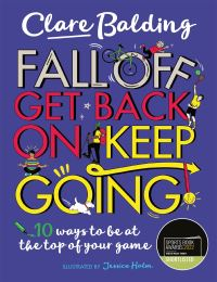 Jacket Image For: Fall off, get back on, keep going