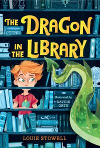Jacket Image For: The Dragon in the Library