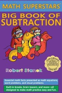 Jacket Image For: Math Superstars Big Book of Subtraction, Library Hardcover Edition