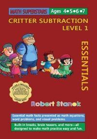 Jacket Image For: Math Superstars Subtraction Level 1