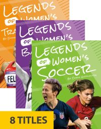 Jacket Image For: Legends of Women's Sports (Set of 8)