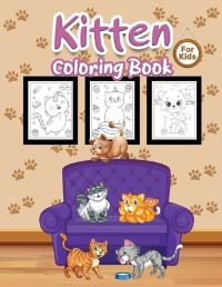 Jacket Image For: Kitten Coloring Book for Kids