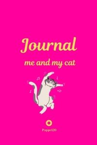 Jacket Image For: Me and My Cat, Journal - Journal for girls with cat - Pink Cover - 124 pages - 6x9 Inches