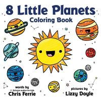 Jacket Image For: 8 Little Planets Coloring Book