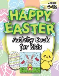 Jacket Image For: Happy Easter Activity Book for Kids