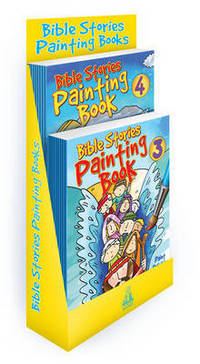 Jacket image for Bible Stories Painting Books 3&4 filled counterpack