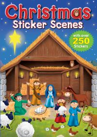 Jacket image for Christmas Sticker Scenes