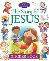 Jacket image for The Story of Jesus Sticker Book