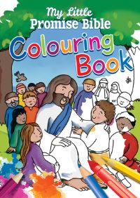 Jacket image for My Little Promise Bible Colouring Book