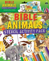 Jacket image for Bible Animals Stencil Activity Pack