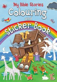 Jacket image for My Bible Stories Colouring and Sticker Book