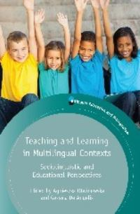 Jacket Image For: Teaching and Learning in Multilingual Contexts