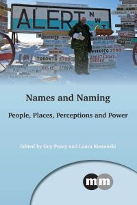 Jacket Image For: Names and Naming