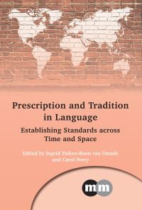 Jacket Image For: Prescription and Tradition in Language