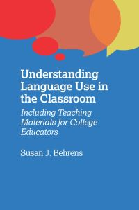 Jacket Image For: Understanding Language Use in the Classroom