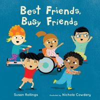 Jacket Image For: Best friends, busy friends