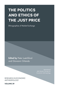 Jacket image for The Politics and Ethics of the Just Price