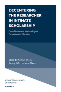 Jacket image for Decentering the Researcher in Intimate Scholarship