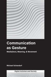 Jacket image for Communication as Gesture