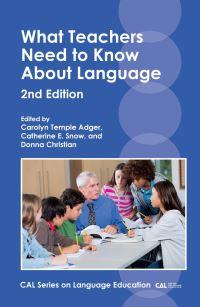 Jacket Image For: What Teachers Need to Know About Language