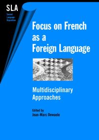 Jacket Image For: Focus on French as a Foreign Language