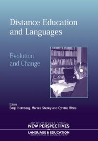 Jacket Image For: Distance Education and Languages