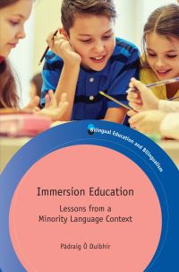 Jacket Image For: Immersion Education