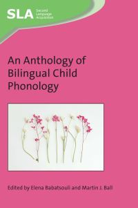 Jacket Image For: An Anthology of Bilingual Child Phonology