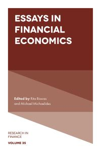 Jacket image for Essays in Financial Economics