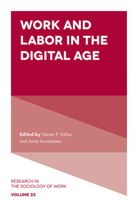 Jacket image for Work and Labor in the Digital Age