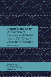 Jacket image for Harold Cecil Edey