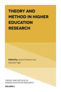 Jacket image for Theory and Method in Higher Education Research
