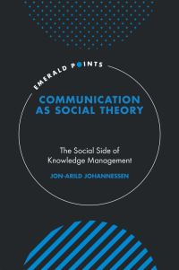 Jacket image for Communication as Social Theory