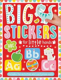 Jacket Image For: Big Stickers for Little Hands ABC