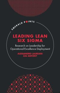 Jacket image for Leading Lean Six Sigma