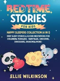 Jacket Image For: Bedtime Stories For Kids- Happy Sleepers Collection (4 in 1)