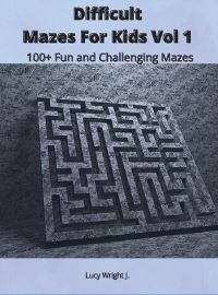 Jacket Image For: Difficult Mazes For Kids Vol 1