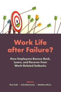 Jacket image for Work Life After Failure?