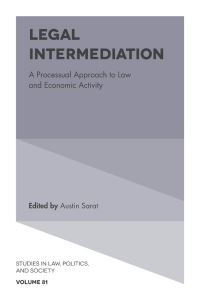 Jacket image for Legal Intermediation