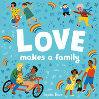 Jacket Image For: Love makes a family