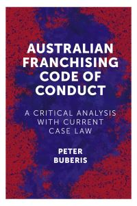 Jacket image for Australian Franchising Code of Conduct