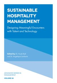 Jacket image for Sustainable Hospitality Management