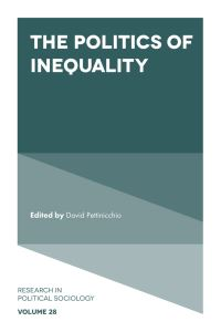 Jacket image for The Politics of Inequality