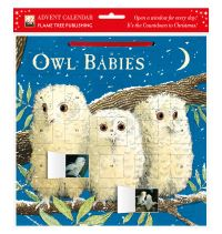Jacket Image For: Owl Babies advent calendar (with stickers)