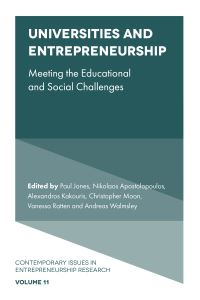Jacket image for Universities and Entrepreneurship